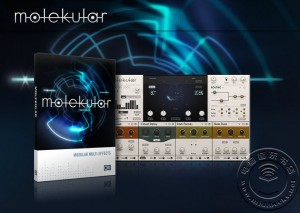 Native Instruments发布用在Reaktor 5下的多重效果器Molekular