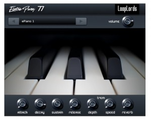 LoopLords 发布 Electric Pianos 77 电钢琴插件