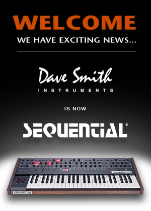Dave Smith Instruments(戴夫·史密斯乐器)回归原名 Sequential
