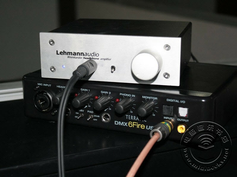 声卡路由器?TerraTec 6 FIRE USB声卡评测-22.1