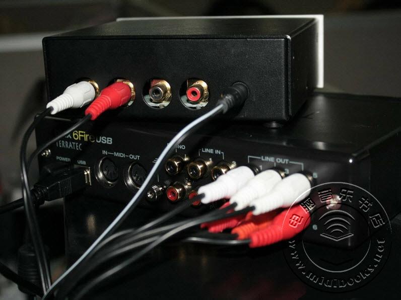声卡路由器?TerraTec 6 FIRE USB声卡评测-22.12