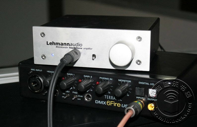 声卡路由器?TerraTec 6 FIRE USB声卡评测-22.13
