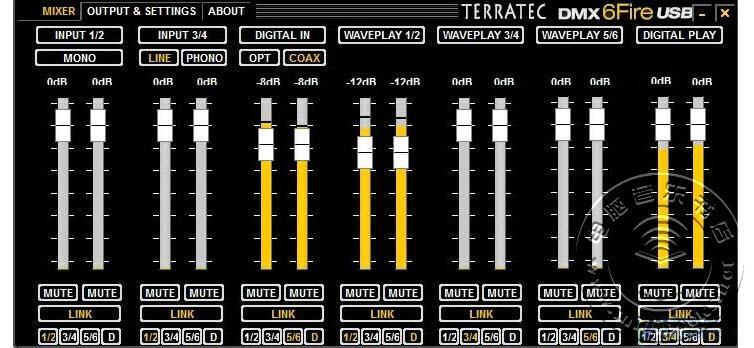 声卡路由器?TerraTec 6 FIRE USB声卡评测-22.19