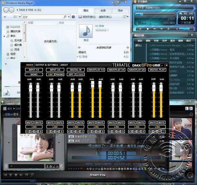 声卡路由器?TerraTec 6 FIRE USB声卡评测-22.2