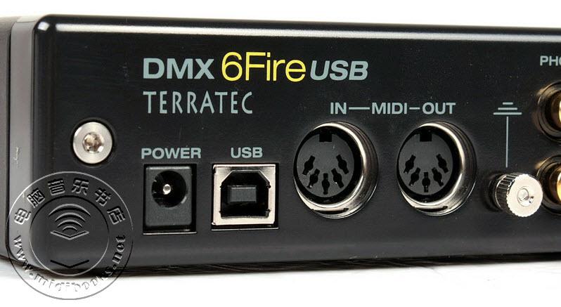 声卡路由器?TerraTec 6 FIRE USB声卡评测-22.5