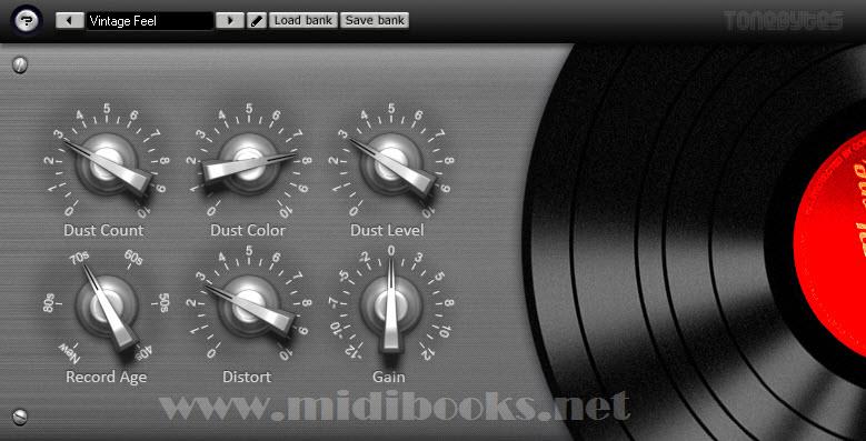 免费的老唱片音色模拟器Vinyl下载