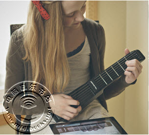 JamStik:用真实的吉他琴弦来控制您的iOS音乐制作软件-6.4