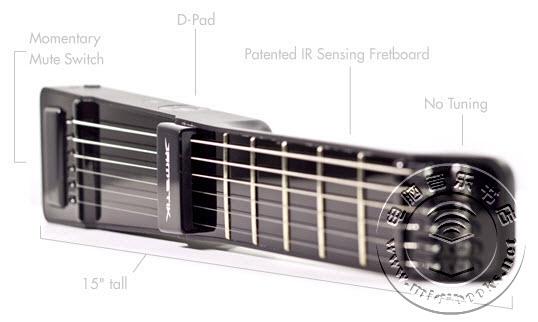 JamStik:用真实的吉他琴弦来控制您的iOS音乐制作软件-6.6