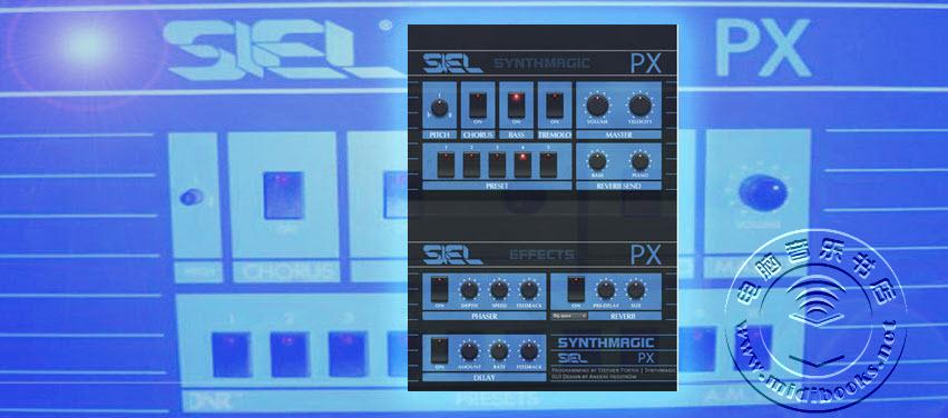 免费的KONTAKT采样乐器Siel PX电钢琴下载