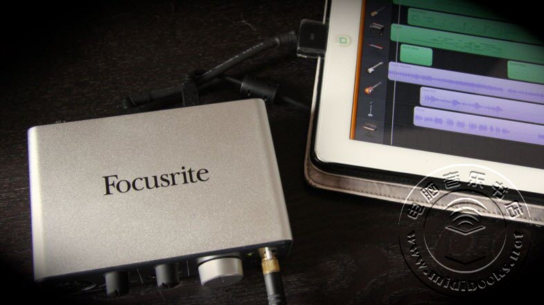 Focusrite iTrack Solo ─ iPad 专用音频接口评测-8.1
