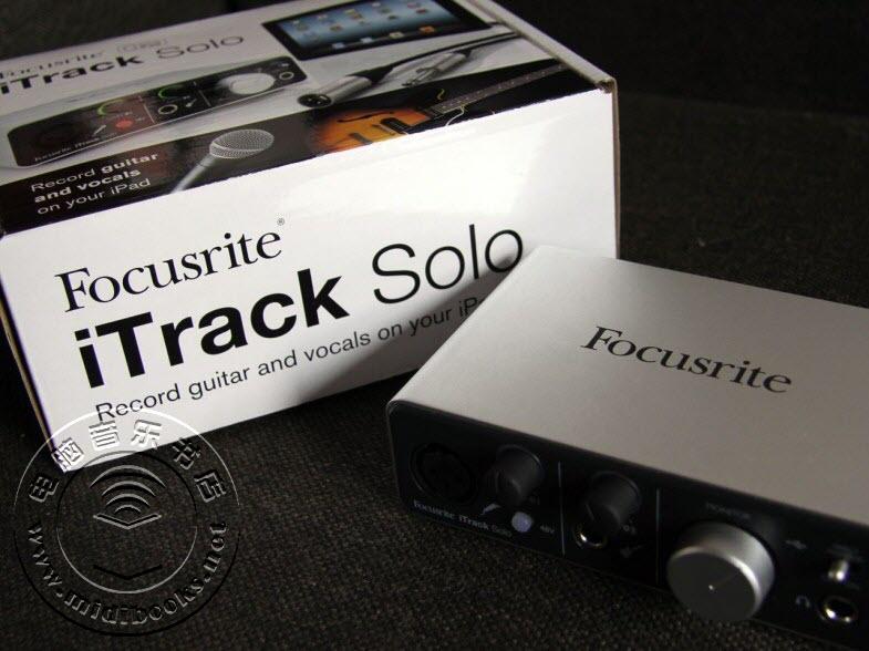 Focusrite iTrack Solo ─ iPad 专用音频接口评测-8.2