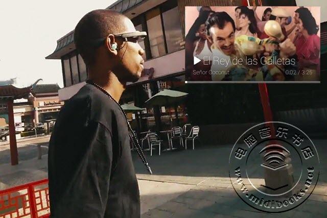 Google Glass整合Play Music音乐播放平台功能