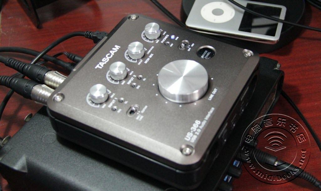 TASCAM US-366 和 US-322 音频接口测评-32.10