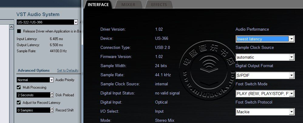 TASCAM US-366 和 US-322 音频接口测评-32.22