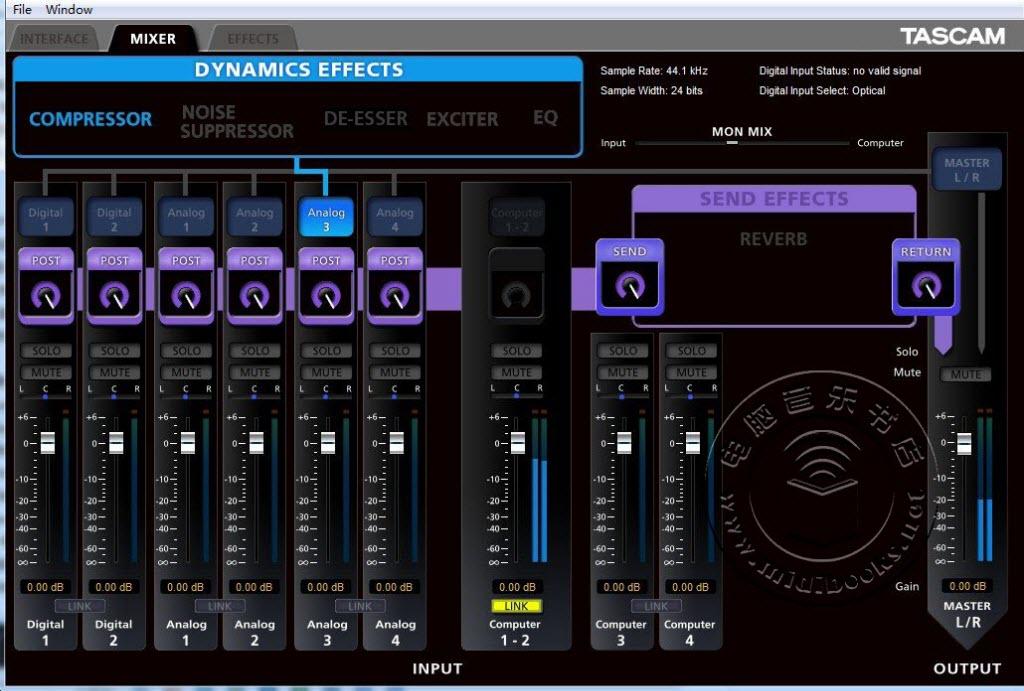 TASCAM US-366 和 US-322 音频接口测评-32.23