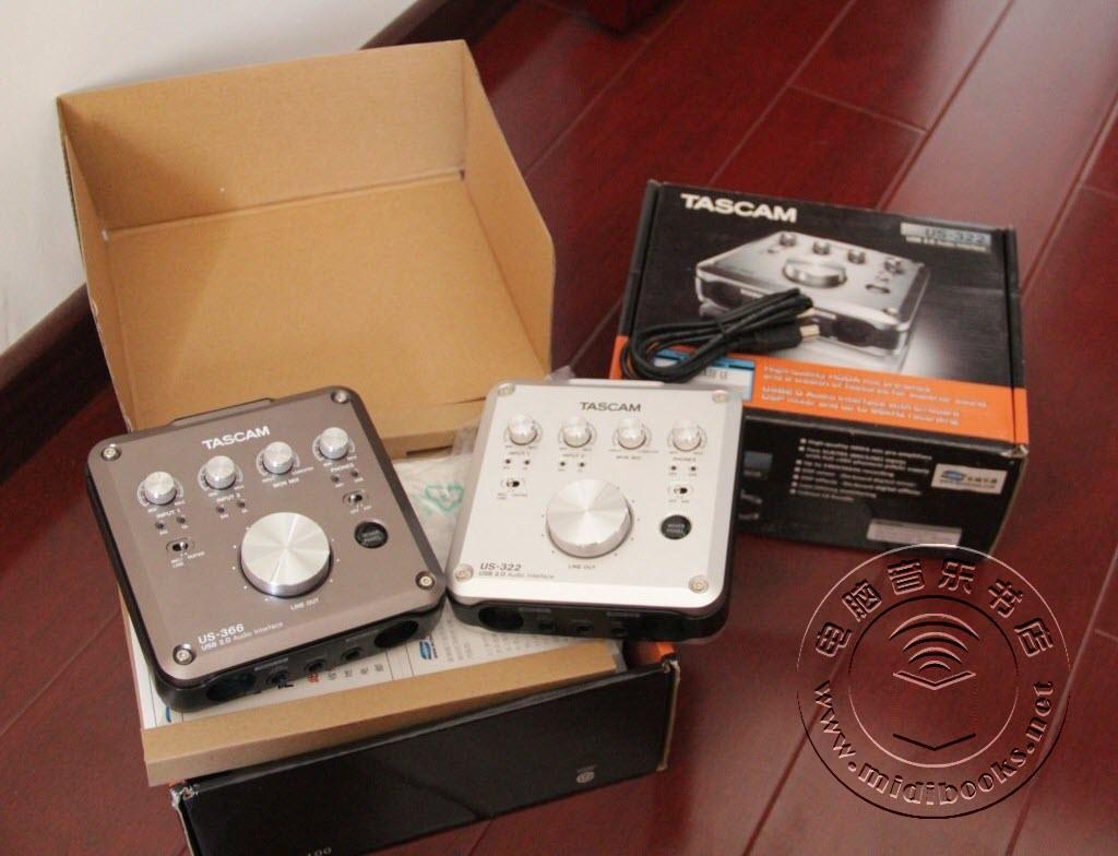 TASCAM US-366 和 US-322 音频接口测评-32.3
