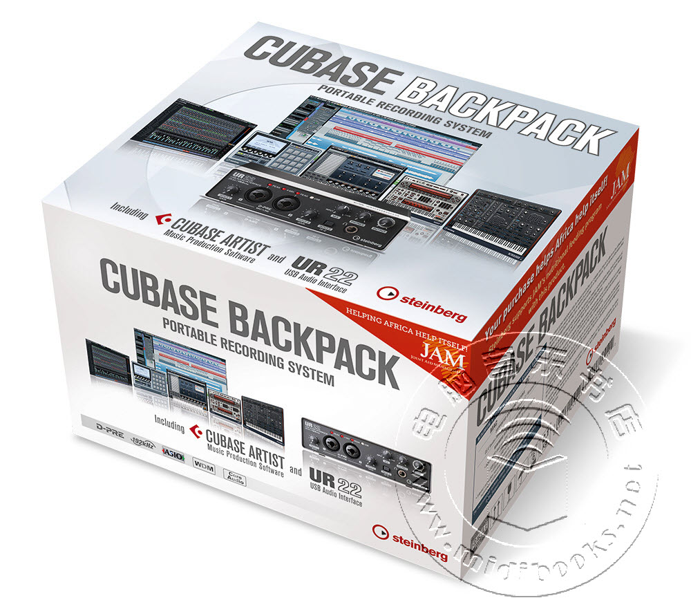 cubase backpack