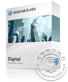 来自Beatmatch的数字鼓素材Digital Sample Pack 免费下载