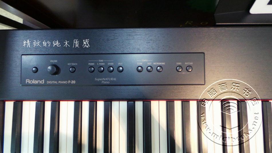 价格配置,都有惊喜 — Roland F-20数码钢琴实际使用评测-9.3