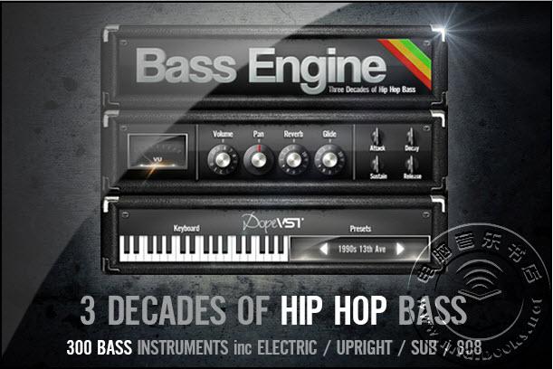 DopeVST介绍它的低音引擎(Bass Engine)
