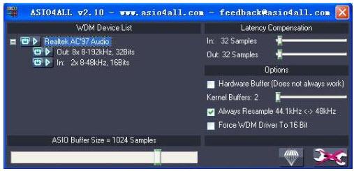 ASIO4ALL2.11最新版下载(普通声卡也能支持ASIO)