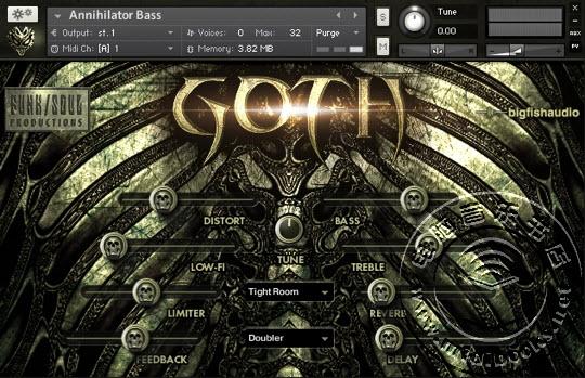 Big Fish Audio(大鱼音频)介绍Goth(野蛮人)音色库