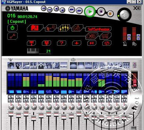 经典的YAMAHA(雅马哈)XG 软音源下载
