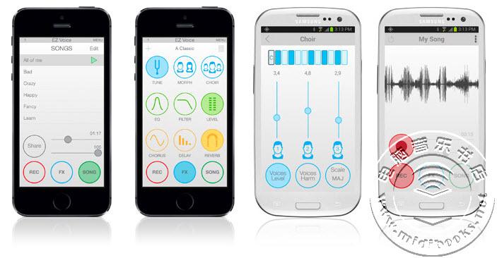 IK Multimedia发布可用于iOS和Android下的K歌话筒