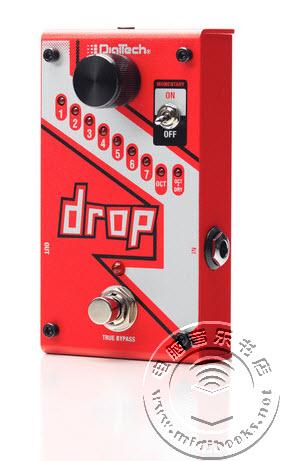 DigiTech公司介绍最新的Drop吉他变调踏板
