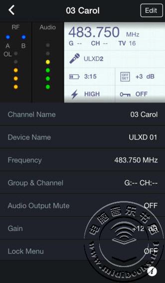 Shure(舒尔)发布无线应用软件ShurePlus Channels