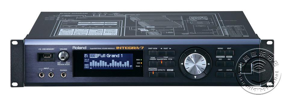 Roland(罗兰)发布旗下著名音源Integra-7编辑器V2版