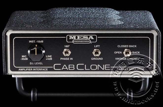2014' SNAMM展会:Mesa Boogie发布CabClone音箱模拟器【视频】