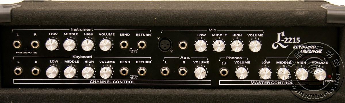 2014年夏季NAMM展会:Hammond 发布 Leslie L-2215 一体化音箱