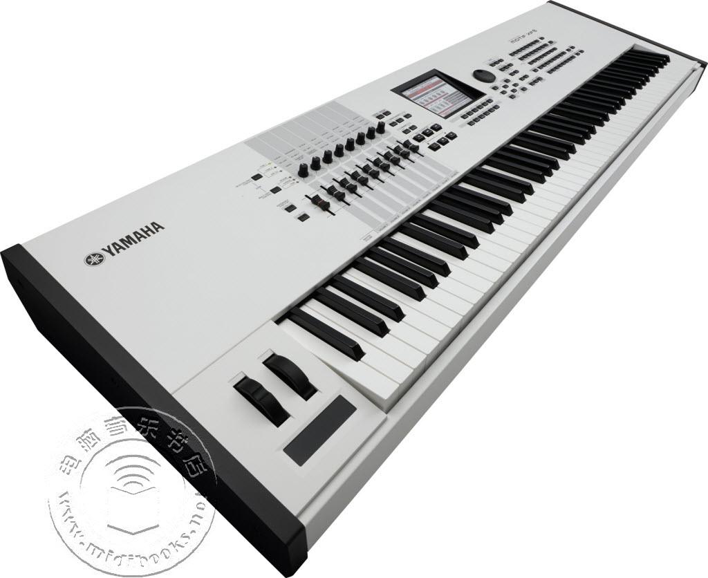 2014年夏季NAMM展会:YAMAHA(雅马哈)发布Motif XF音乐合成器白色纪念版【视频】
