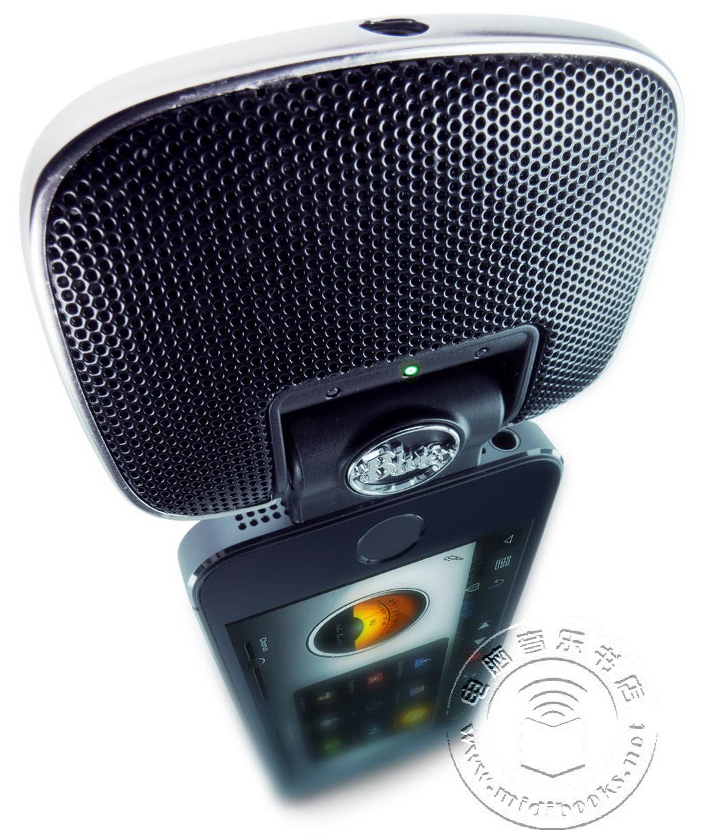 2014年夏季NAMM展会:Blue Microphones发布带有闪电接口的Mikey Digital麦克风【视频】