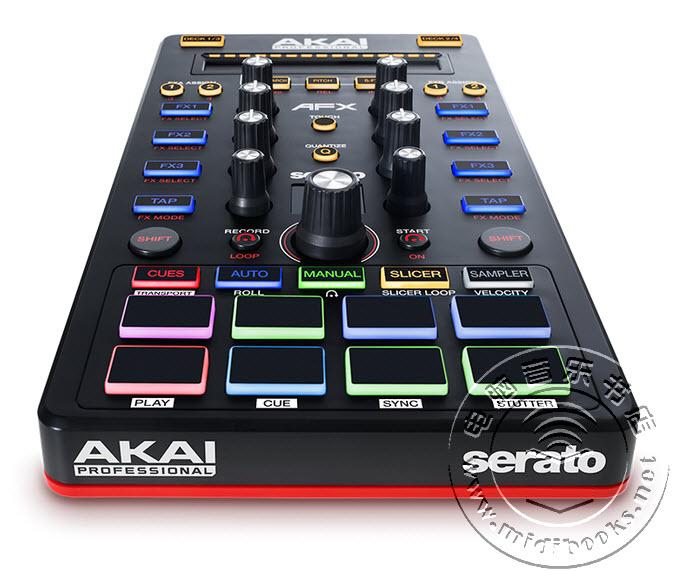 AKAI 投入 Serato DJ 怀抱,推出专用控制器/声卡 AFX 和 AMX