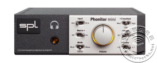 SPL发布 Phonitor Mini 耳机放大器