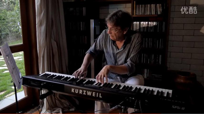 国外艺术家使用KURZWEIL(科兹威尔)SP5-8电钢琴感受(视频中字)