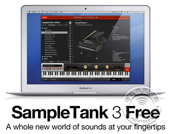 IK Multimedia 发布 SampleTank 3 (采样坦克)免费版