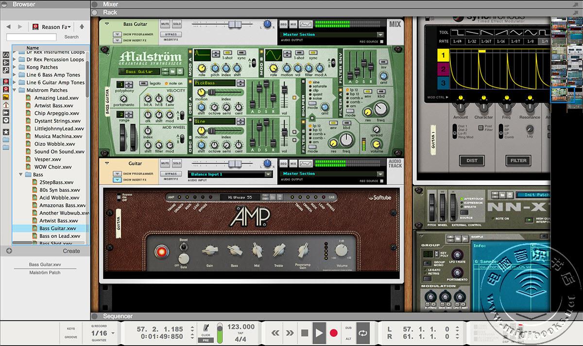 Propellerhead 发布界面重新设计的 Reason 8
