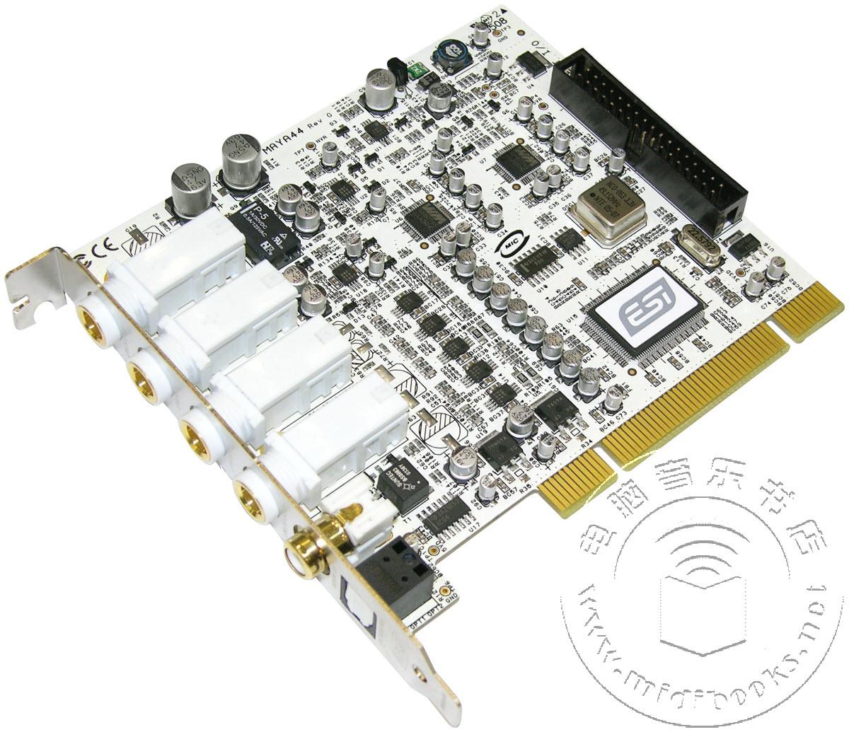 上海怡歌正式推出经典ESI MAYA 44专业声卡驱动V1.19
