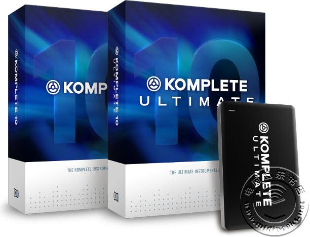 NI 升级终极软件套装 KOMPLETE 10 和 KOMPLETE 10 ULTIMATE