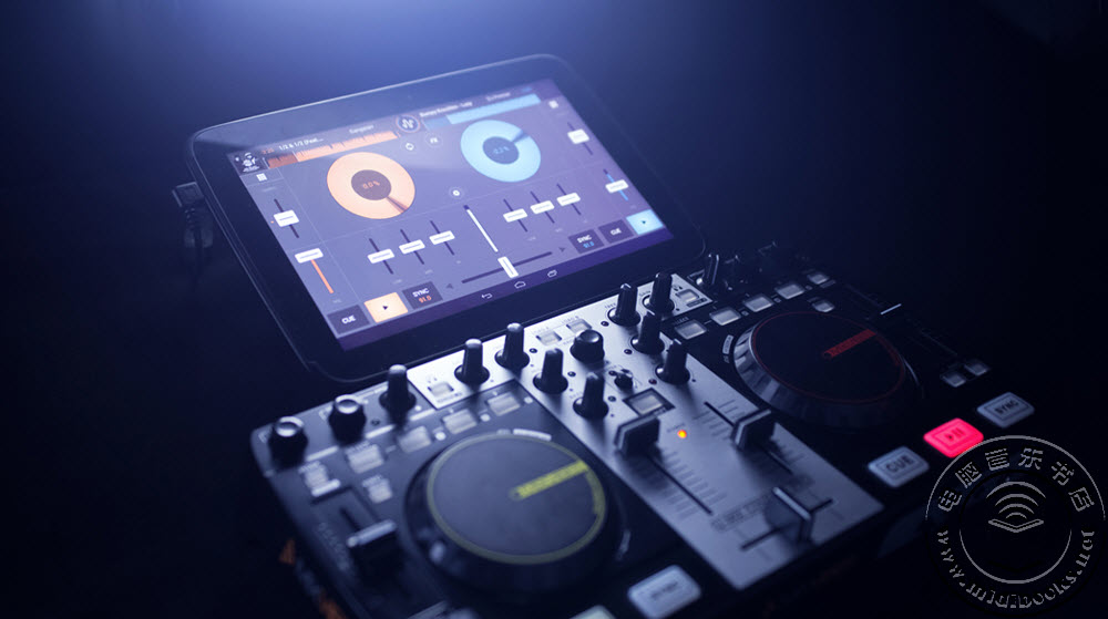 Cross DJ Android版现在支持MIDI控制