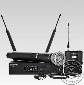 Shure(舒尔)发布全新QLX-D无线录音系统