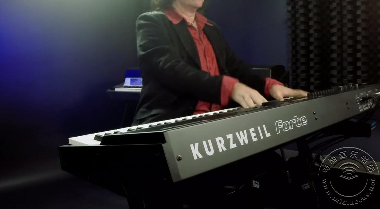Bob Malone用Kurzweil Forte演奏Chinese Algebra【视频】