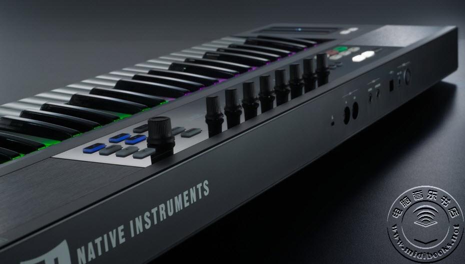 NI 绚丽多彩的 KOMPLETE KONTROL S 键盘控制器正式亮相