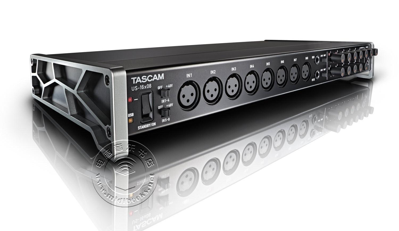 【2014年AES展会新闻】TASCAM发布全新 US-16X08 USB2.0音频接口(视频)