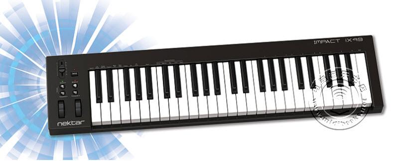 Nektar发布集成DAW软件的Impact iX MIDI键盘