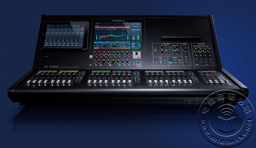 Roland(罗兰)推出 M-5000 现场控制台(调音台)