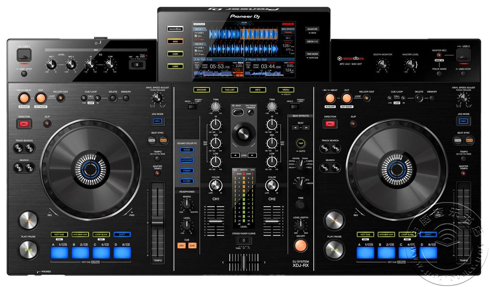 [NAMM2015]先锋(Pioneer)发布新款XDJ-RX DJ MIDI控制器(视频)